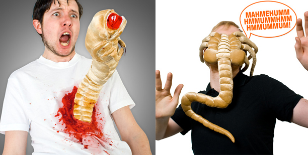 Alien toys from Firebox