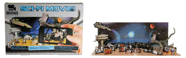 Sci-fi movie making kit from I Want One of Those