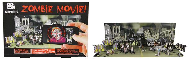 Zombie movie making kit from Amazon