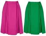 calf skirts from Topshop