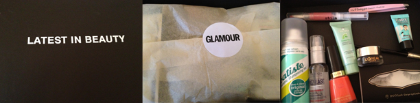 latest in beauty glamour box