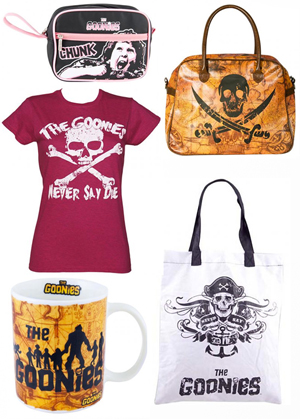 goonies items from truffle shuffle