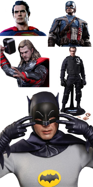 hot toys from forbidden planet