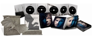 Game of Thrones season three dragon edition from amazon