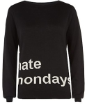 i hate mondays jumper from new look