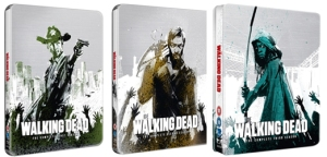 the walking dead steelbooks from play