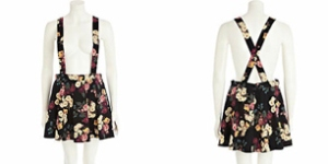 item of the day dungaree skater skirt post