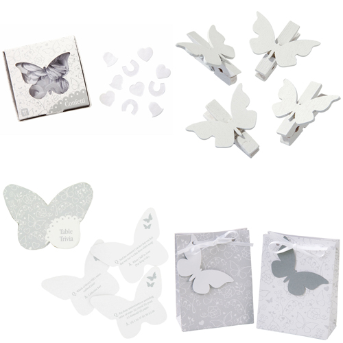 paperchase butterfly wedding collection