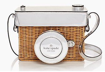 kate spade grand tour wicker bag