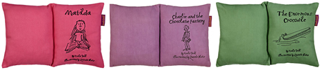roald dahl book cushions from john lewis