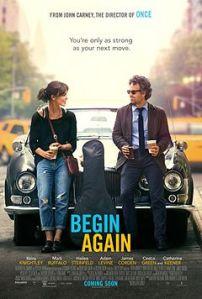 begin again film poster