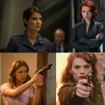 female characters in captain america: the winter soldier