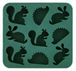 woodland creature ice cube tray