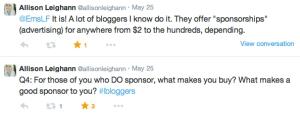 #lbloggers chat
