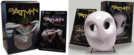 batman mask and book sets