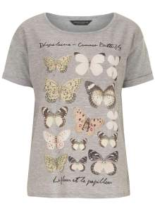 butterfly tee from dorothy perkins