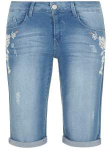embroidered shorts from dorothy perkins