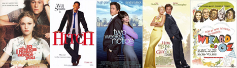 my five most watched films
