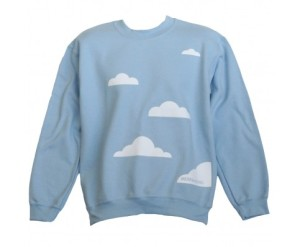 cloud sweater from lost lanes