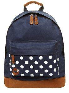 navy spot bag from dorothy perkins