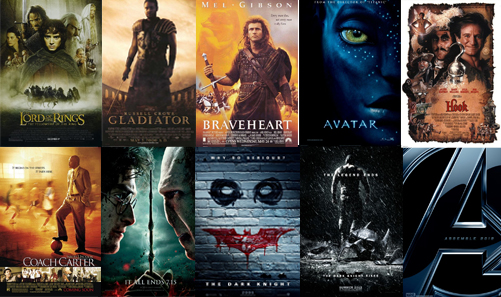 robs favourite films