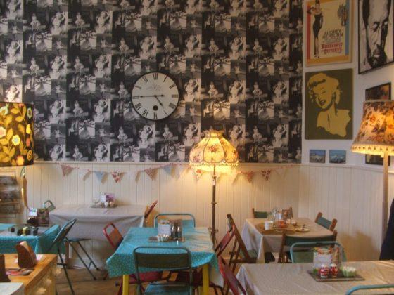 Duckie's Vintage Tearoom, Hayle