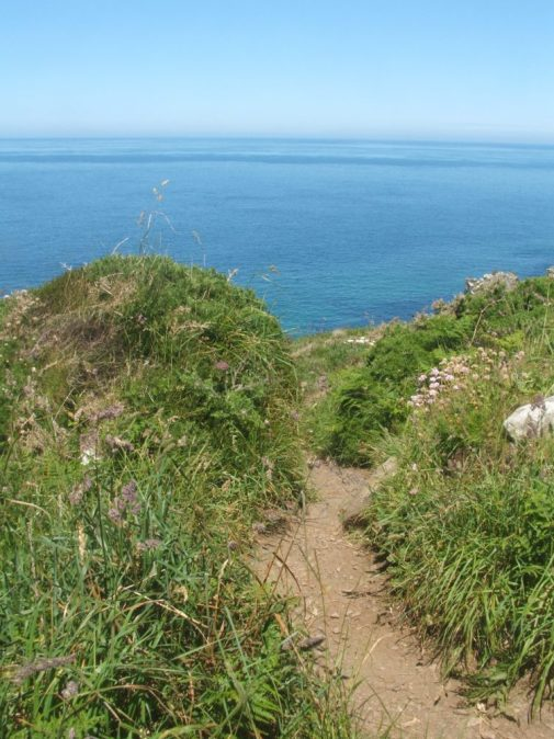 coastal walk, st ives, cornwall