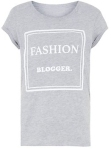 fashion blogger tee from new look