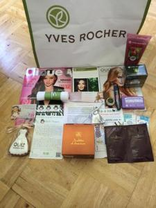 south west blog social goody bags
