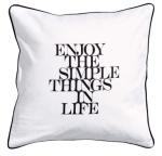 h&m simple things cushion