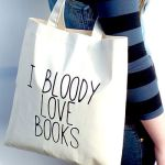 i bloody love books tote bag from not on the high street