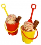 ice cream bucket and spade from the handpicked collection