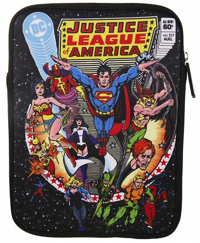 justice league tablet case from truffle shuffle