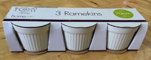set of 3 ramekins from poundland