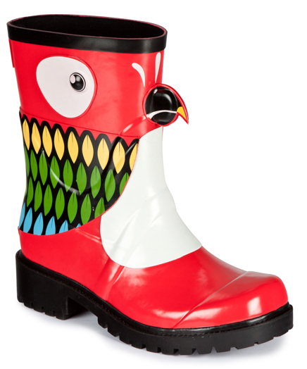 parrot wellies from julu x kigu