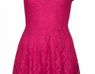 pink lace dress from Topshop