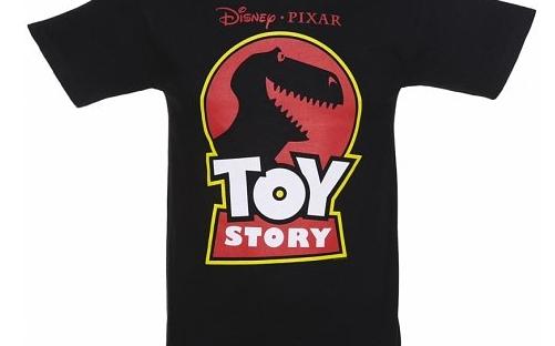toy story/jurassic park t-shirt from truffle shuffle
