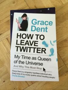 how to leave twitter book from poundland