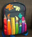 artist backpack from folksy