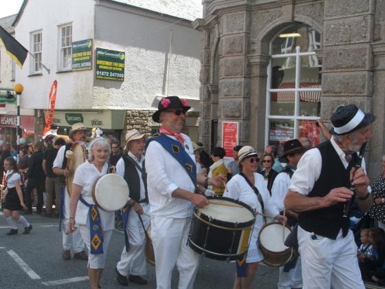 Mazey Day 2014, Penzance
