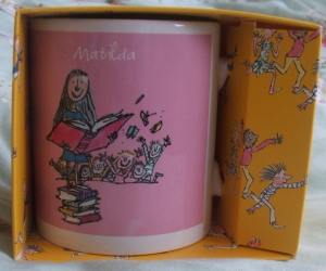 matilda mug from sainsbury's