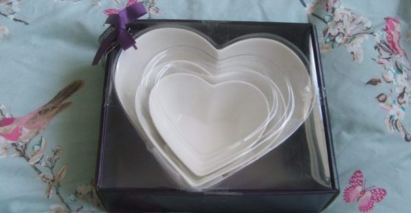 heart dishes from sainsbury's