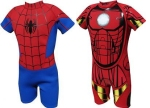 spiderman and iron man wetsuits from amazon