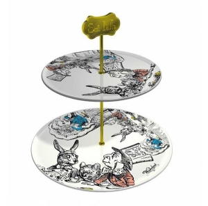 alice in wonderland cake stand from truffle shuffle