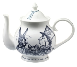 alice in wonderland teapot from whittard