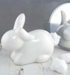 bunny cotton wool dispenser from truffle shuffle