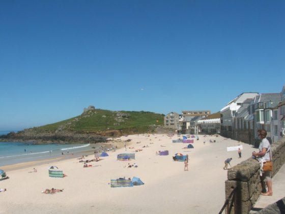 Porthmeor Beach, St Ives, Cornwall