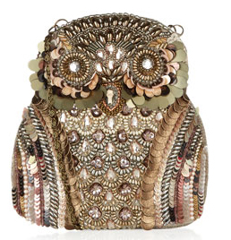 embellished owl bag from accessorize