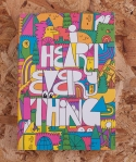 i heart everything notebook from roos beach