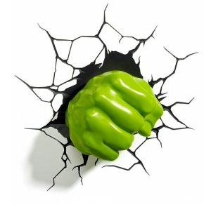 hulk fist wall light from truffle shuffle